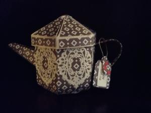 Cafe au Lait Tea Pot